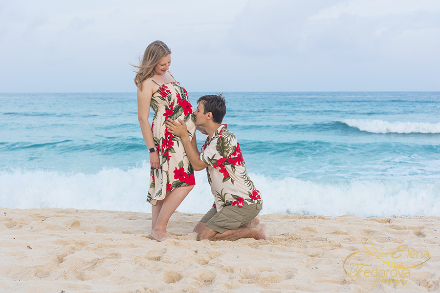 maternity photos Cancun