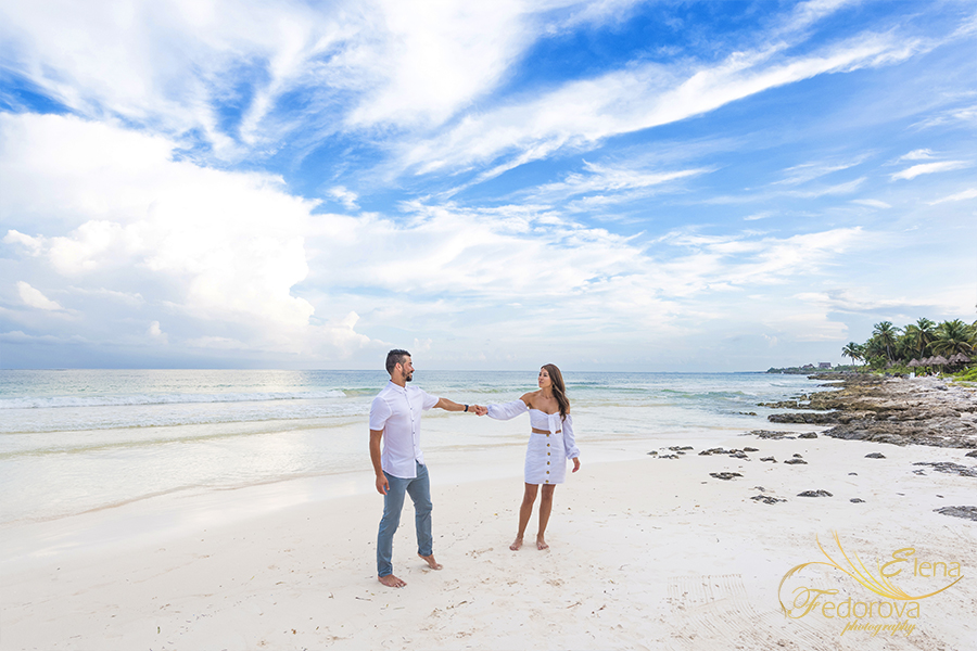 tulum beach photo session