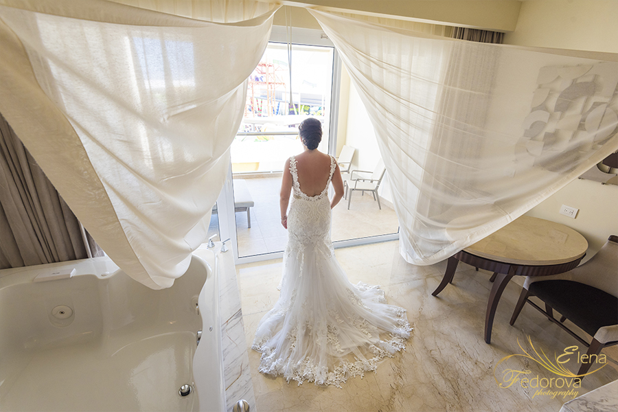 creative moon palace Cancun wedding
