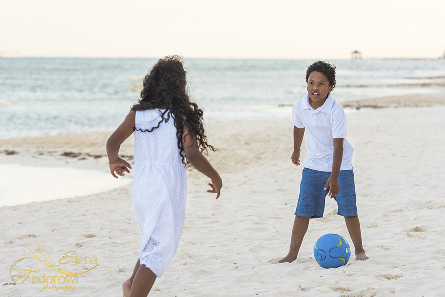 kids fun beach grand velas playa del carmen
