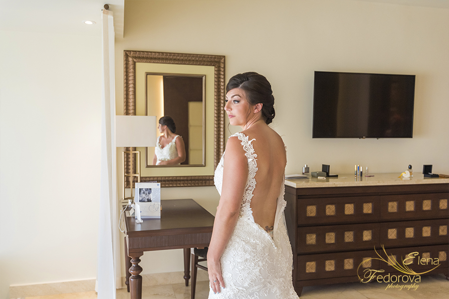 moon palace cancun wedding beautiful bride