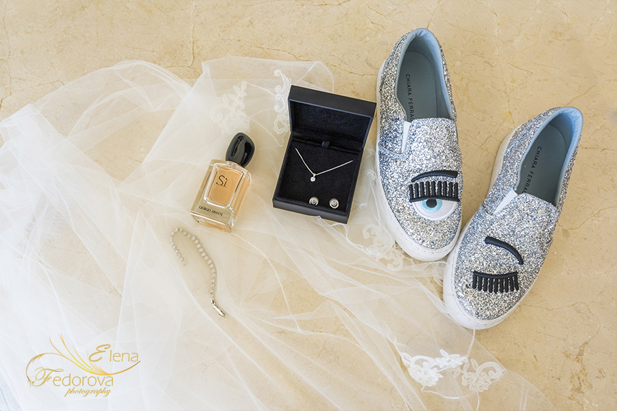 moon palace cancun wedding bridal details