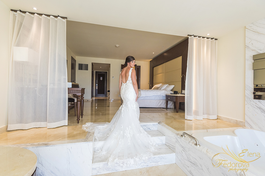 moon palace cancun wedding bridal suite
