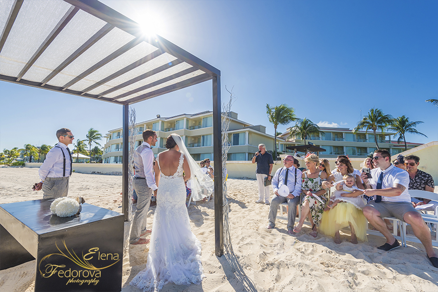 Moon palace Cancun wedding celebration