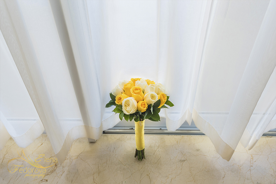 Moon Palace Cancun wedding flowers