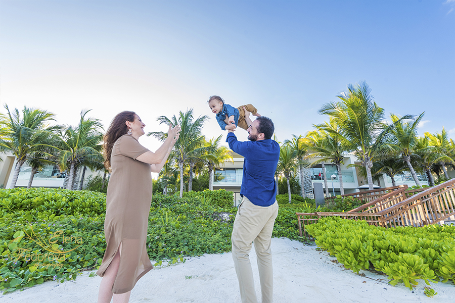 rosewood mayakoba family photographer
