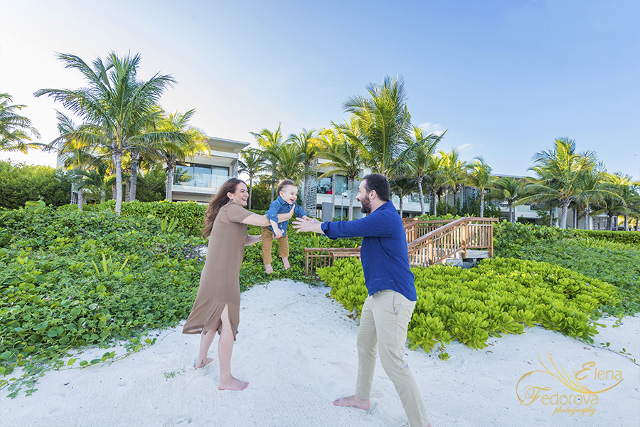 rosewood mayakoba family photography