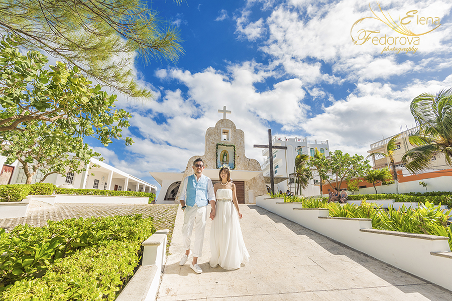 isla mujeres church photo