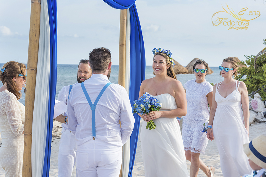 photography wedding blue venado beach club