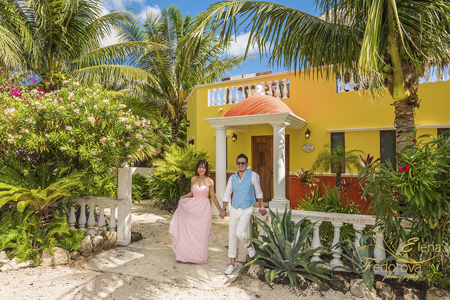 villa for wedding isla mujeres