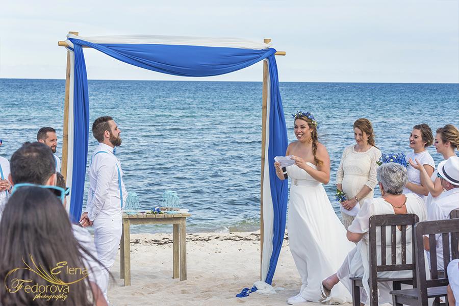 wedding and ceremony blue venado beach club