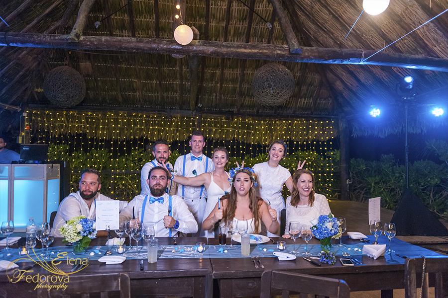 beach club at punta venado wedding