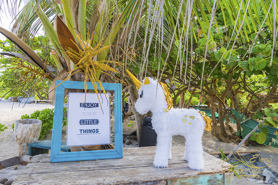 weddings decoration photo blue venado beach club