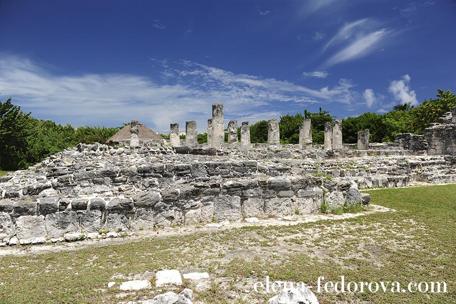 cancun el rey ruins