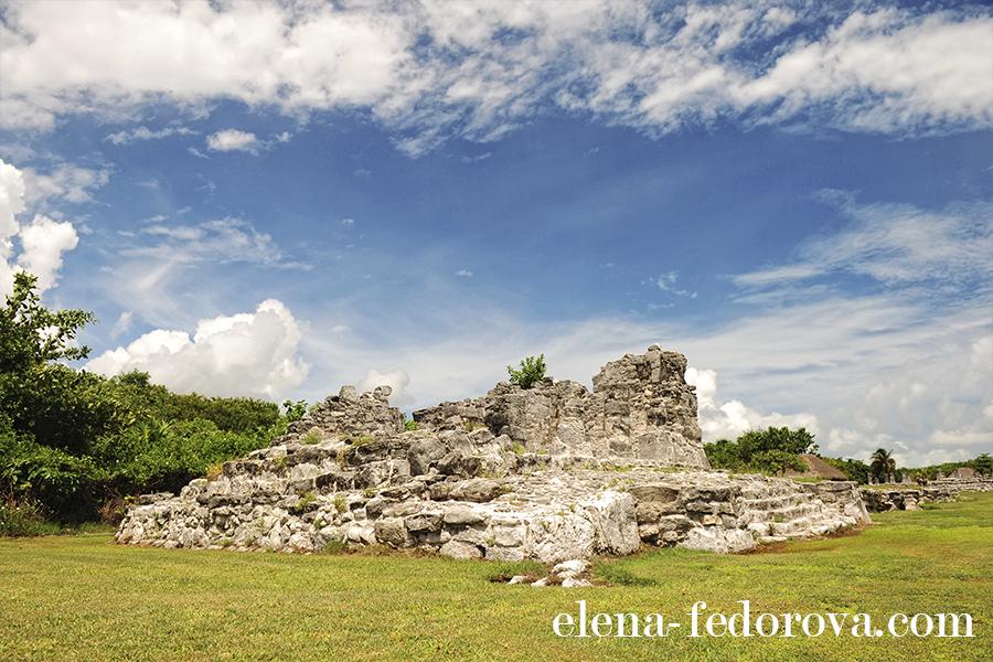 el rey ruins cancun mexico