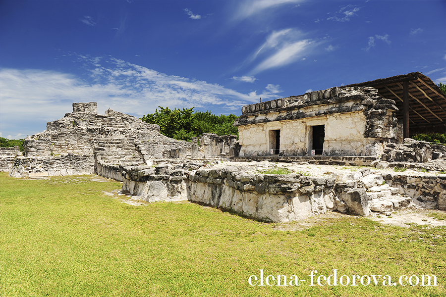 el rey ruins cancun picture