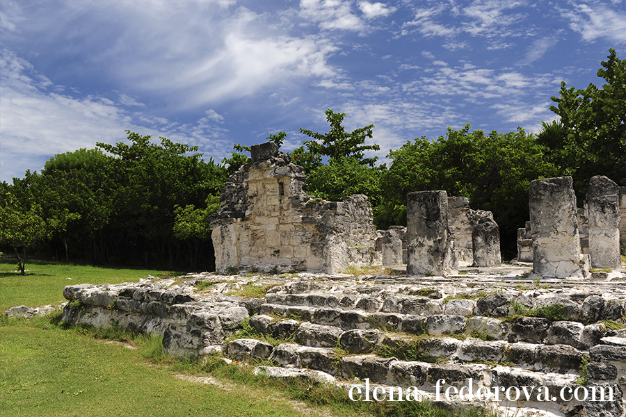 el rey ruins mexico cancun photo