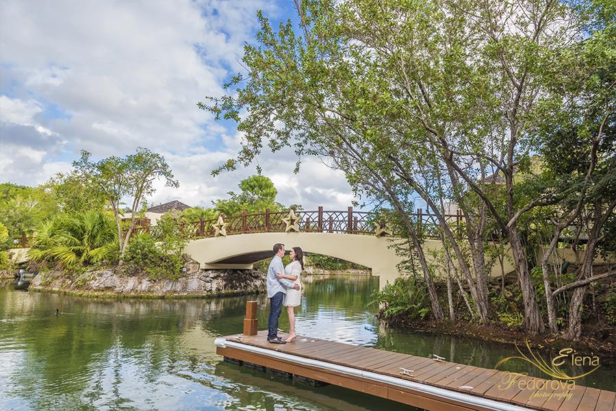 mayakoba resort river photo