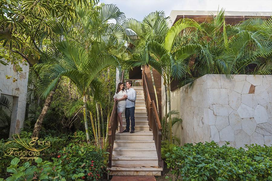 photo session mayakoba resort