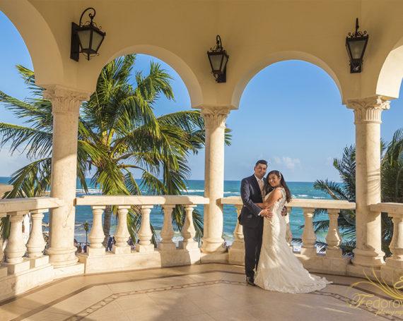 Villa La Joya wedding ceremony.