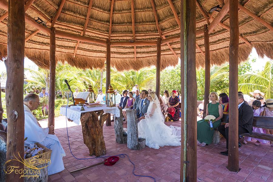 catholic ceremony cancun