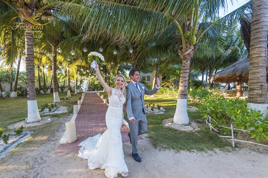 meet bride and groom