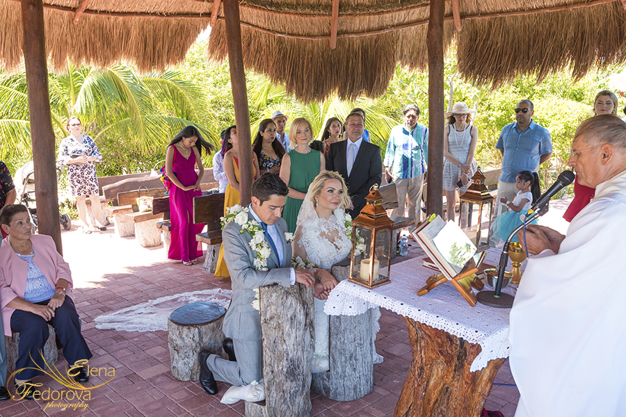 ocean weddings cancun catholic ceremony