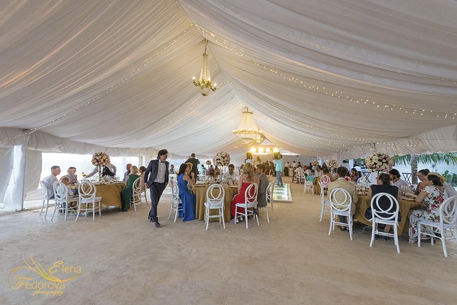 ocean weddings cancun reception hall