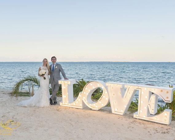 Ocean Weddings Cancun Mexico.