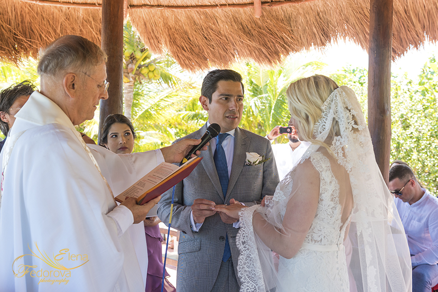 wedding vows ocean wedding cancun