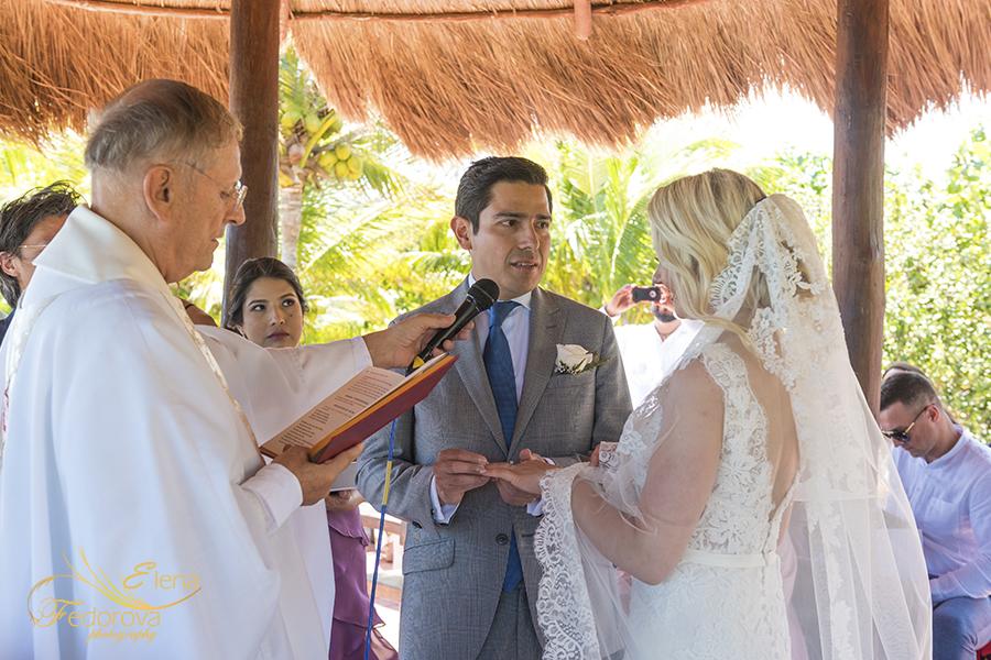 wedding vows ocean wedding cancun