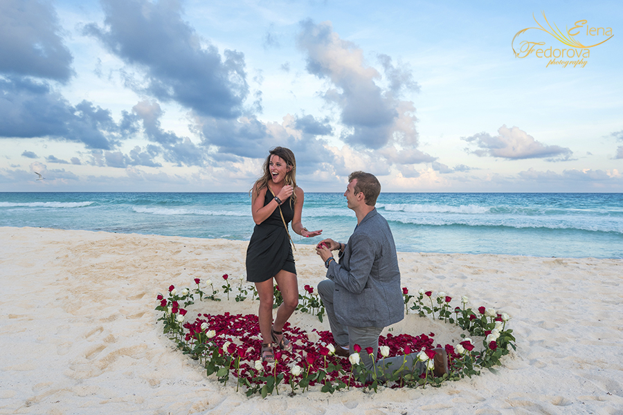 cancun marriage proposal