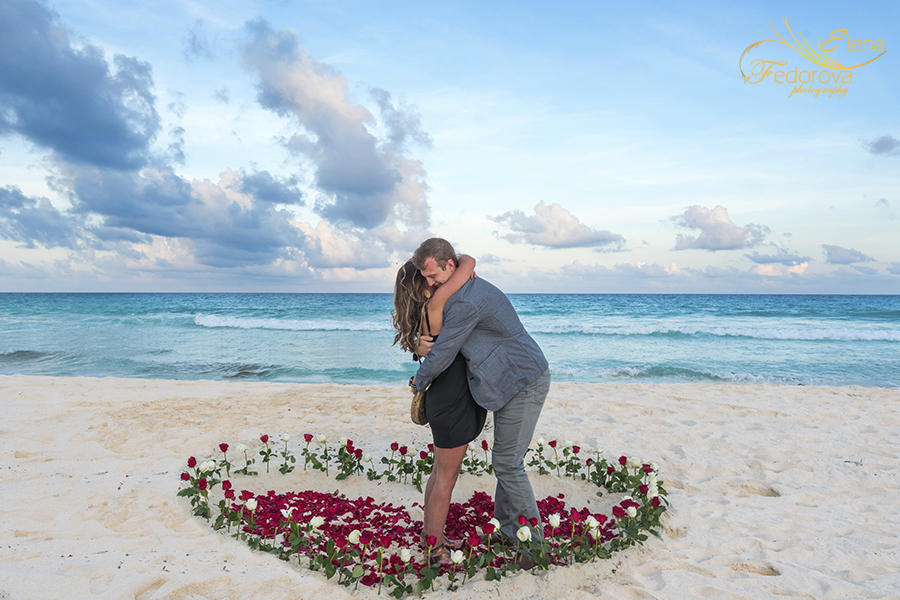 cancun proposal photos