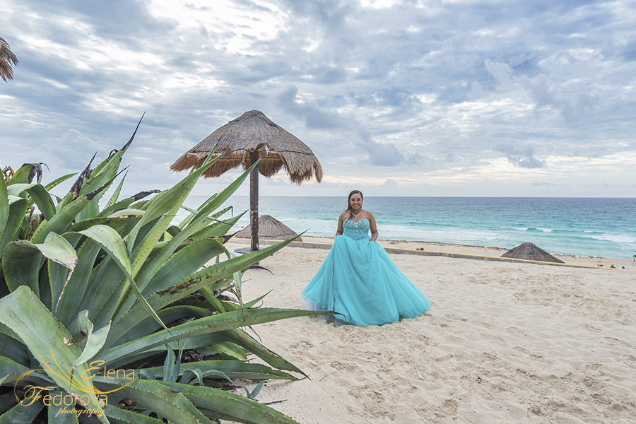 cancun quinceanera photos