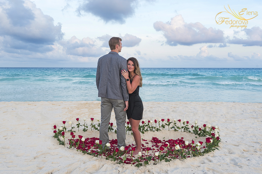 how to propose marriage in cancun