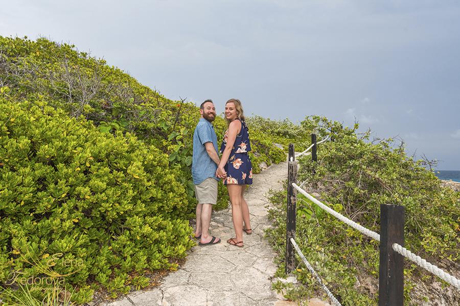 isla mujeres proposal photo shoot
