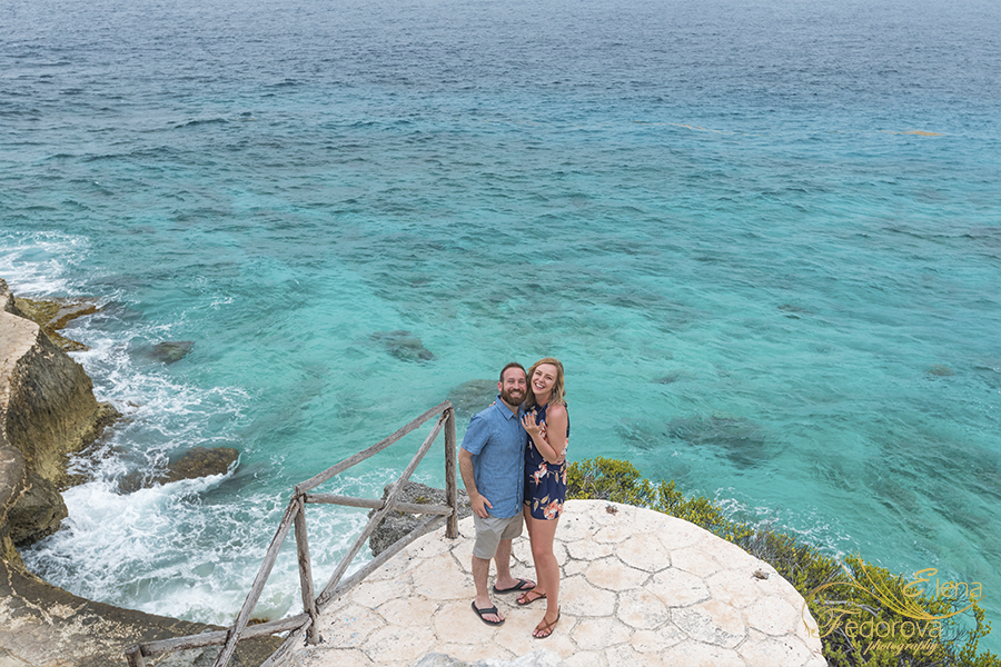 isla mujeres proposal photos