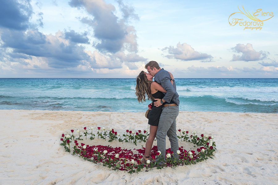 marriage proposal photographer cancun