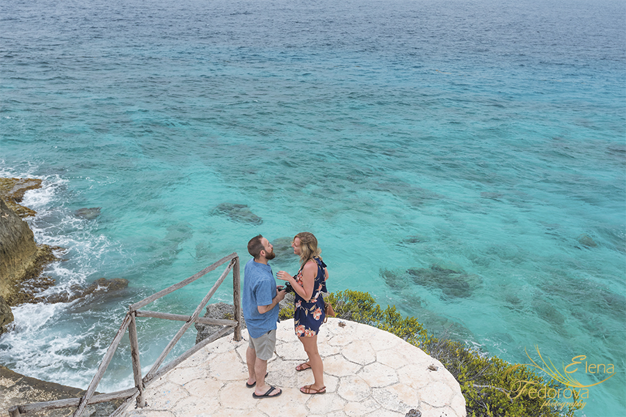 proposal in isla mujeres