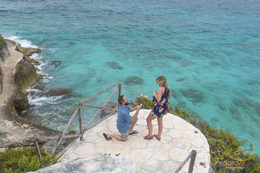 propose in isla mujeres