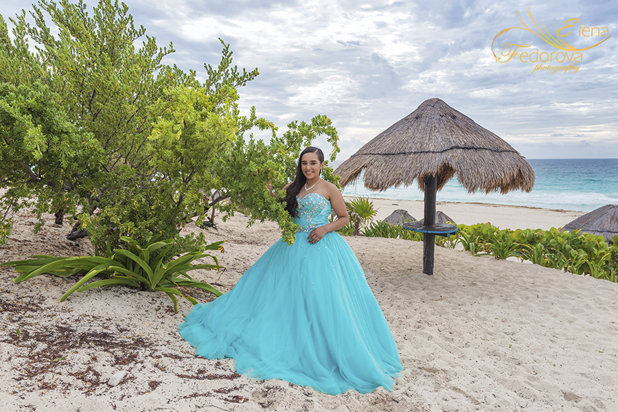 quinceañera photography cancun