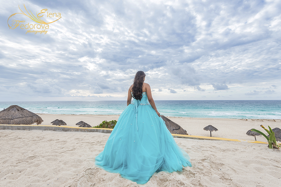 quinceanera photos from cancun