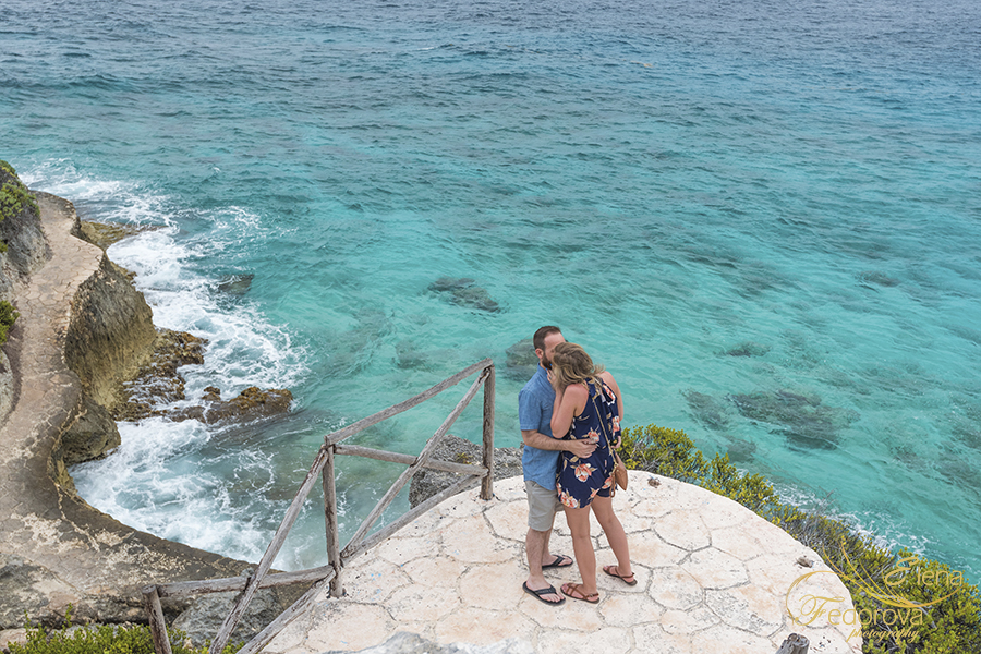 where to propose in isla mujeres