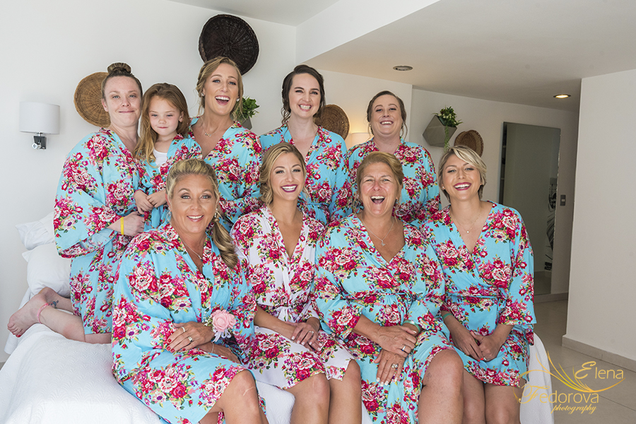 bridemaids all together photos