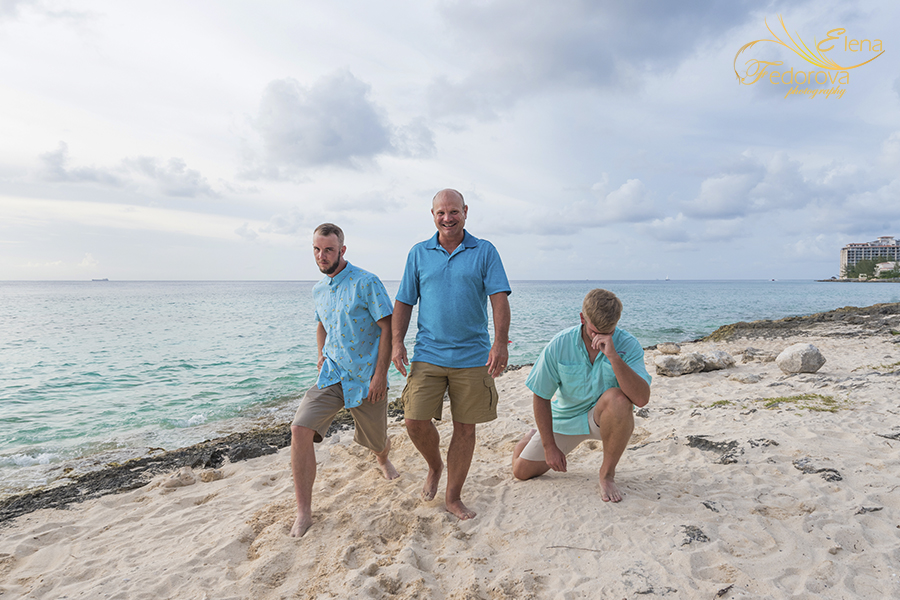 family photo session cozumel mexico tequila beach club