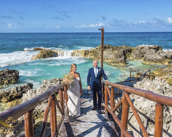 Mia Reef Isla Mujeres wedding day.