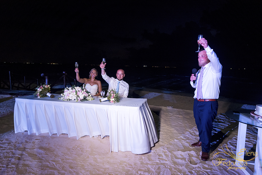 mia reef isla mujeres wedding speaches