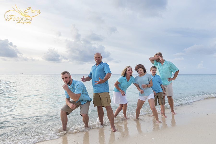 tequoila beach club cozumel family photography