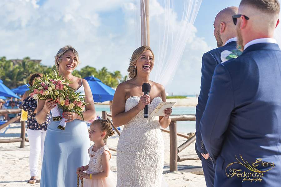 wedding at mia reef isla mujeres cancun
