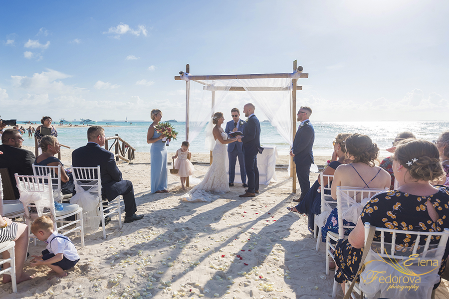 wedding at mia reef isla mujeres
